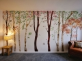 Living Room Interior Mural Design 01